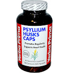 Yerba Prima Psyllium Husks 180 Capsules