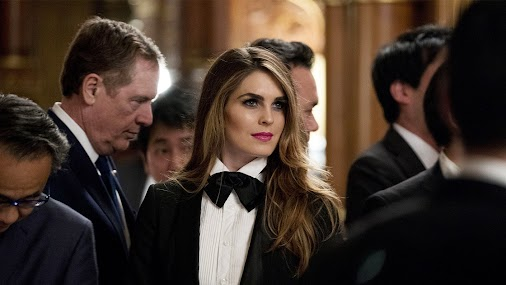 Veteran Trump Staffer Hope Hicks Wears a High-Fashion Tuxedo at State Banquet in Japan - Vanity Fair...