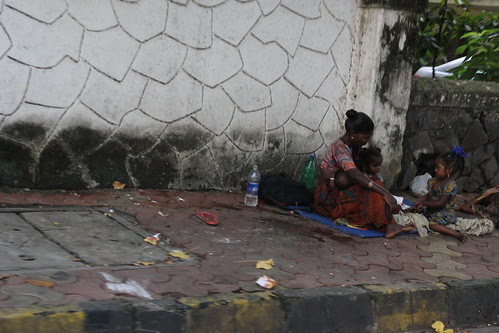 After The Death Of The Common Man His Widow And Kids Took To Begging The Streets by firoze shakir photographerno1
