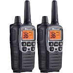 Midland X-TALKER T77VP5 38-mile 36-Channel Two-way Radio with Headset Pair - FRS/GMRS - 462.55-467.71 MHz - 10 NOAA Channels - Water-resistant