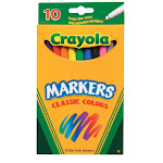 Crayola 58-7726 Classic Colors Marker