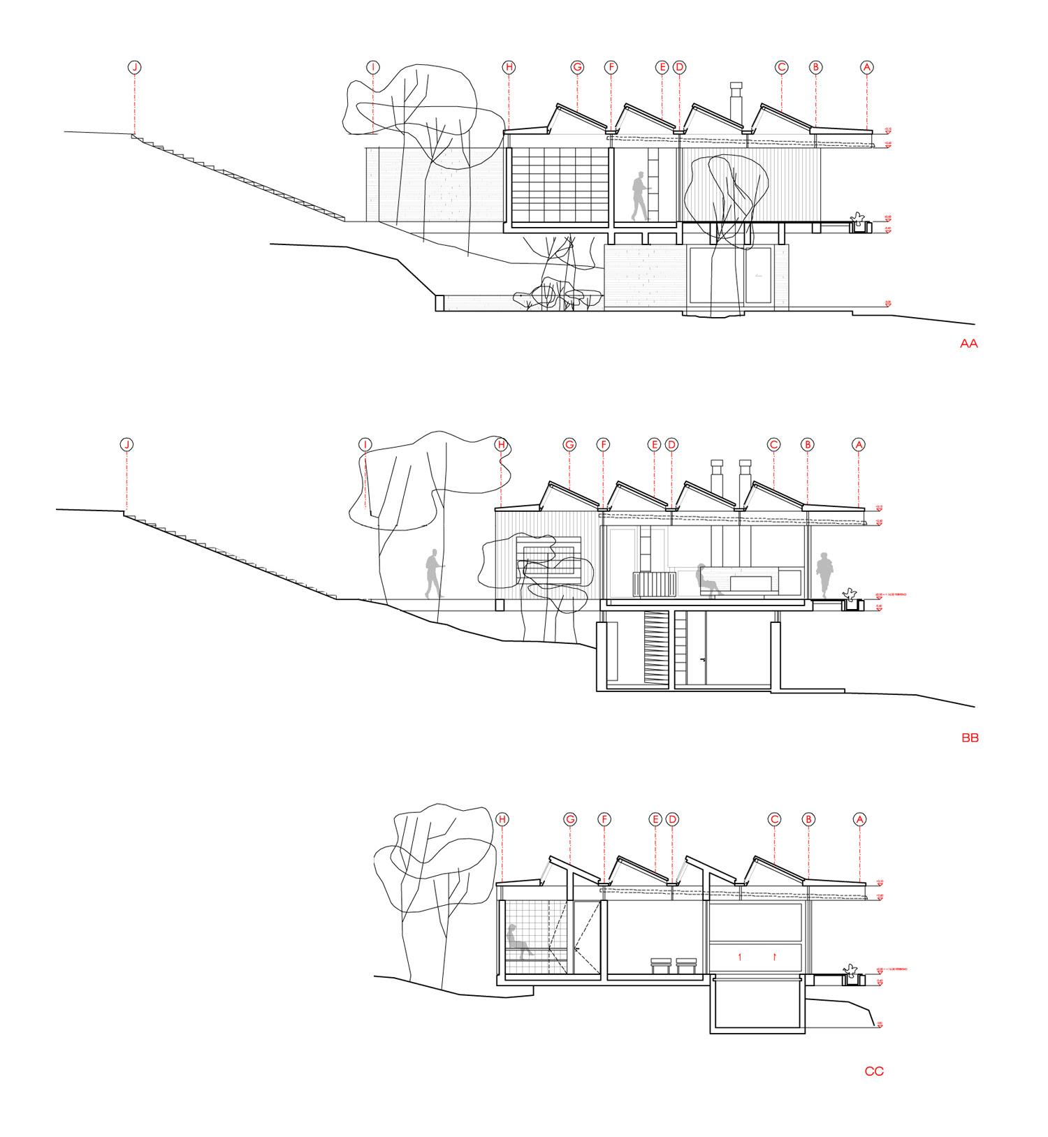 Casa Techos - Mathias Klotz, Arquitectura, diseño, casas