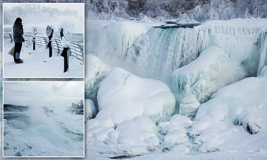 PHOTOS: Niagara Falls has frozen over