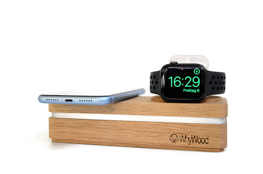 WhyWood - Docking Stations handcrafted in Switzerland