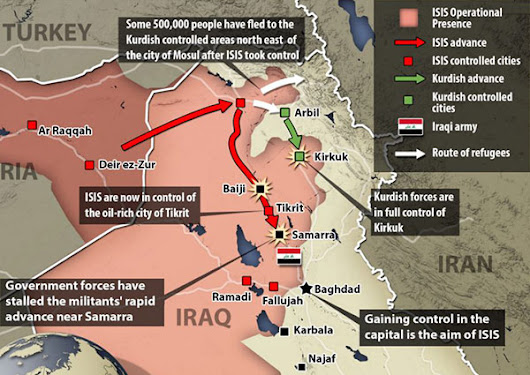 Iraq's rapid fall to civil war was expected on day one of Bush's illegal attack