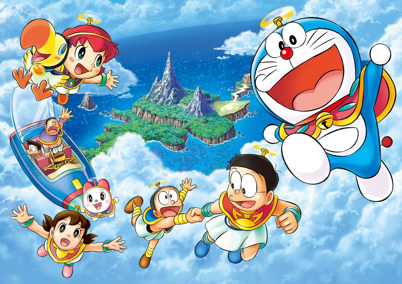Doraemon Wallpaper SF Wallpaper