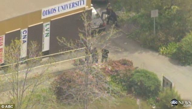 School: The shooting took place at Oikos University which aims to teach 'emerging leaders' in Christian education