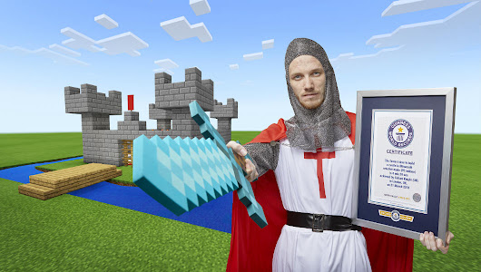 YouTube gamer SeaPeeKay becomes king of the castle with latest Minecraft record