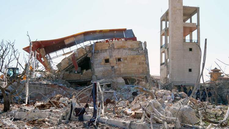 Hospital hit by airstrikes in Syria