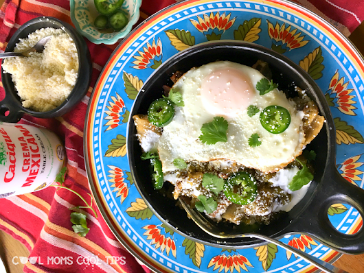 Easy Delicious Chilaquiles Recipe For Brunch and Breakfast - Cool Moms Cool Tips