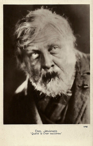 Emil Jannings in The Way of All Flesh