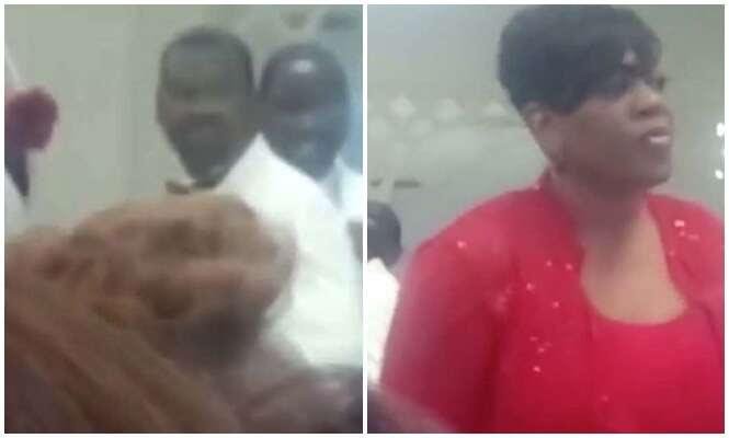 Mulher é filmada interrompendo casamento afirmando ser amante do noivo