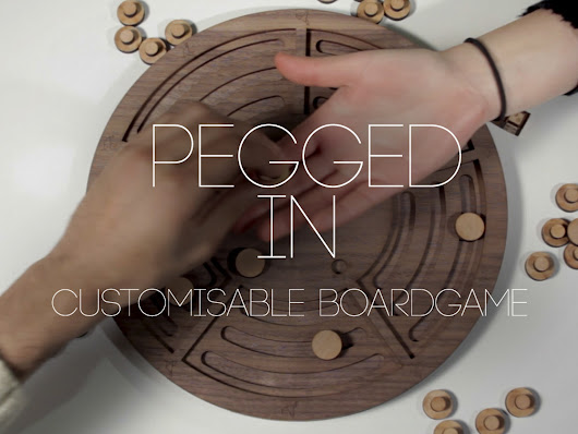 Pegged In | Customisable Board Game