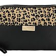 Animal Print Clutch Bag with Faux leather: : Clothing