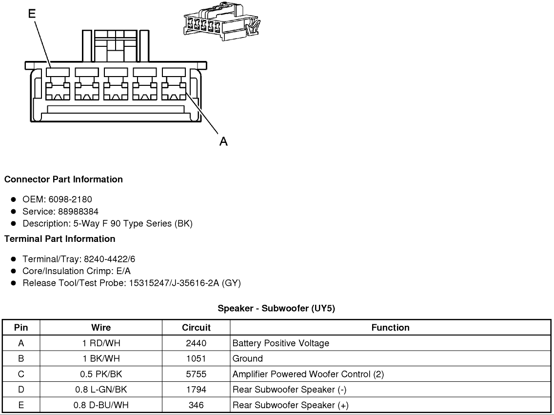 Wiring Diagram Or Schematic For An 2008 Sts V Bose System Cadillac Owners Forum
