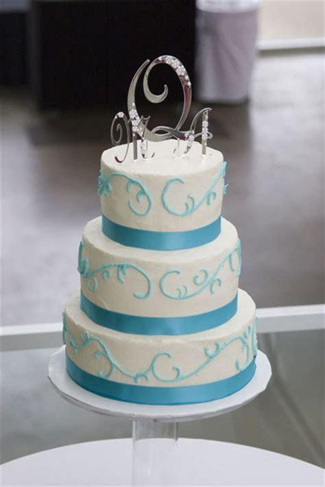 Aqua Beautiful Wedding Cakes Decoration:Wedding