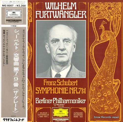 FURTWANGLER, WILHELM schubert, franz; symphonie nr.7(9)