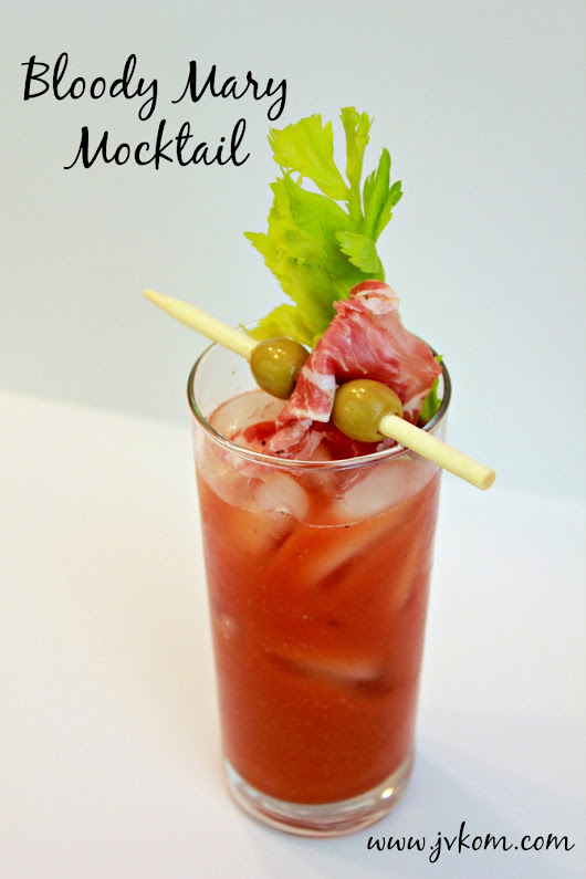 Bloody Mary Mocktail - JVKom Chronicles