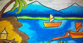Gambar Pemandangan Gunung Nyata