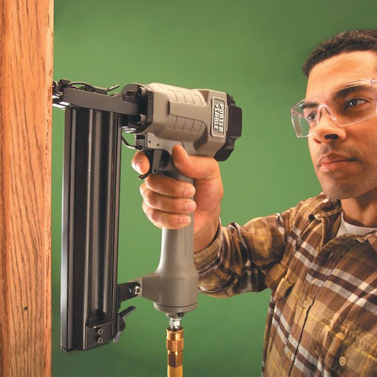 How to Use a Trim Nailer Gun | The Family Handyman