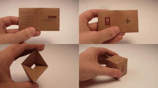 50 Business Cards That Are Way Too Creative To Ever Throw Away ~ proposal template