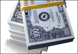 A stack of Money/Picture of money (The followi...