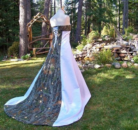 Pink Camo Wedding Dresses   A Trusted Wedding Source by