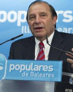 El exdiputado del PP Vicente Martínez Pujalte. / EFE