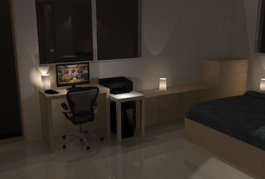 design Home And Office Furniture in 3D - fiverr