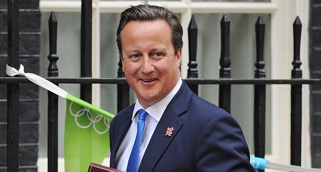 Change of heart? In 2008 Cameron agreed that for Britain to meet our commitment to the EU that, by 2020, wind farms were the best option