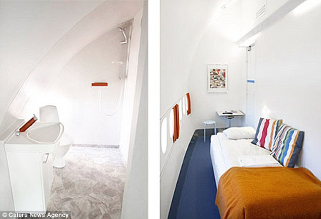 The unique style of accommodation is likely to appeal to aviation enthusiasts, but perhaps not frequent flyers