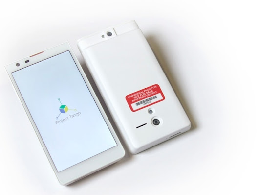 Google announces Project Tango, a smartphone that can map the world around it