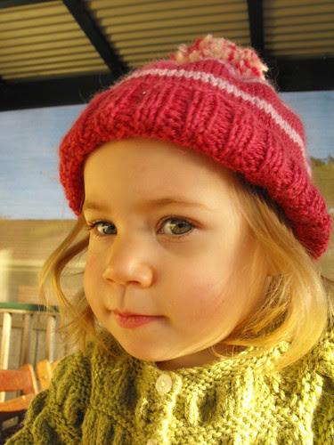 Amélie's Beanie - portrait