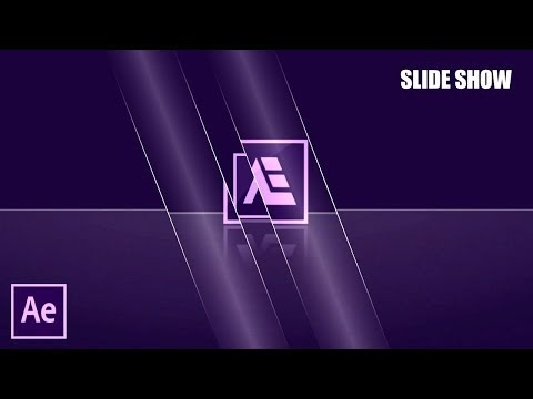 After Effects Tutorial: Transform Glass Effects Slideshow (No-Plugin)