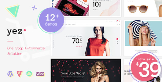 Yez - Multipurpose WooCommerce WordPress Theme - Theme88.Com – Free Premium Nulled Cracked Themes & Plugins & PHP Scripts and More