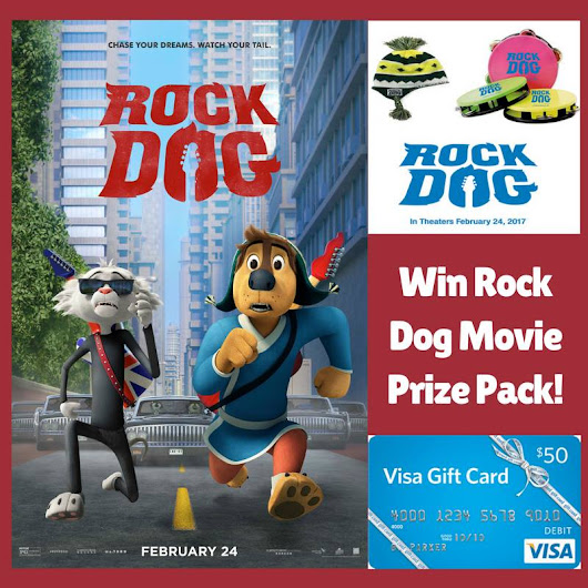 #RockDog Prize Package & $50 Visa Gift Card Giveaway!!