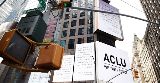 ACLU Sends Powerful Message To Trump With First Amendment Billboards