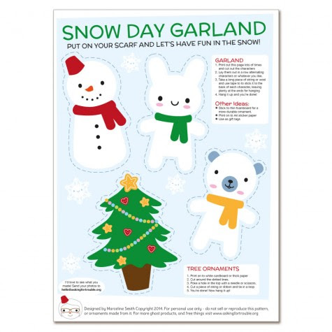 snow-day-garland