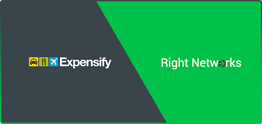 Right Networks Offers Expensify to all Business Cloud Customers