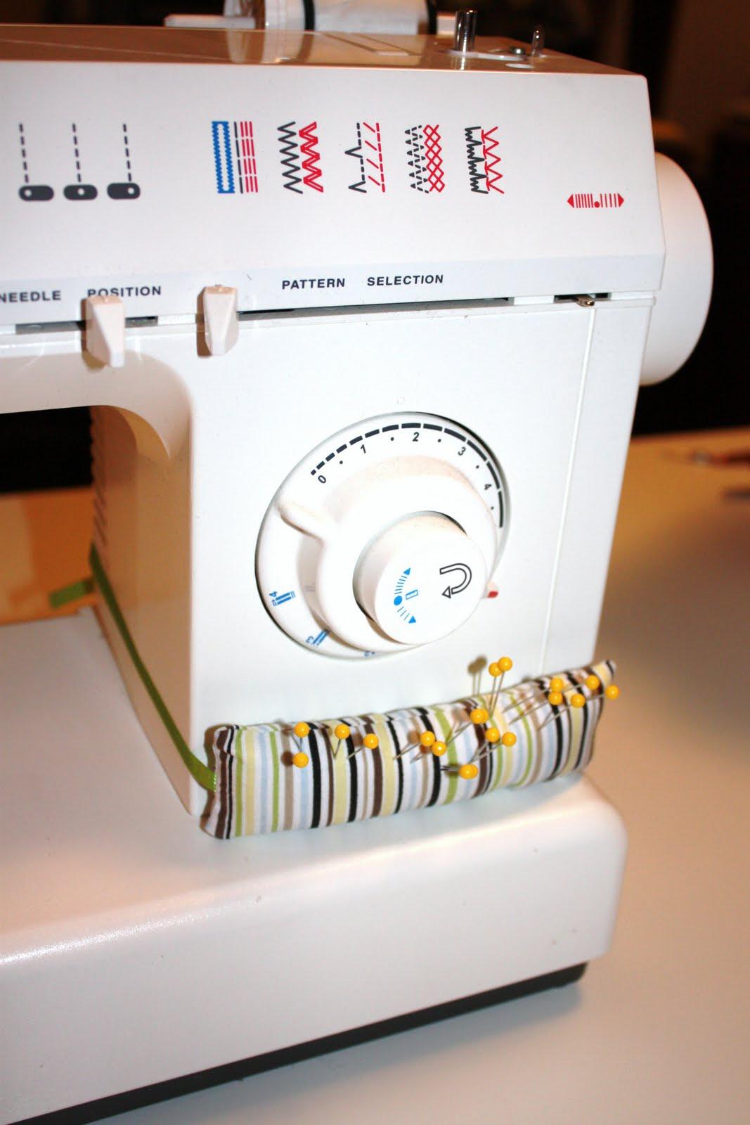 браслет для булавок на швейную машину