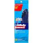 Gillette Sensor2 Disposable Razors - 12 count