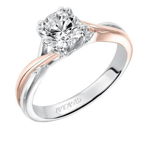 SOLITUDE   Artcarved Engagement Ring in 2019   rings