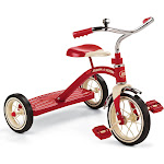 Radio Flyer 10 in Red Classic Tricycle