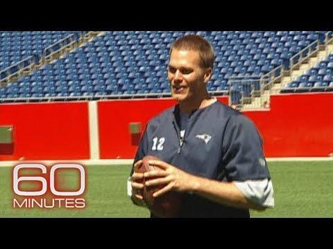 """60 Minutes"" archives: How far can Tom Brady throw a football?"