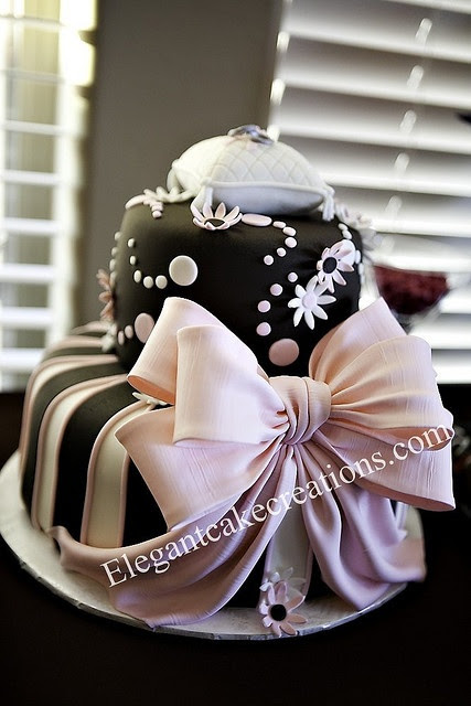 Bridal Shower Cake by Elegant Cake Creations AZ, via Flickr