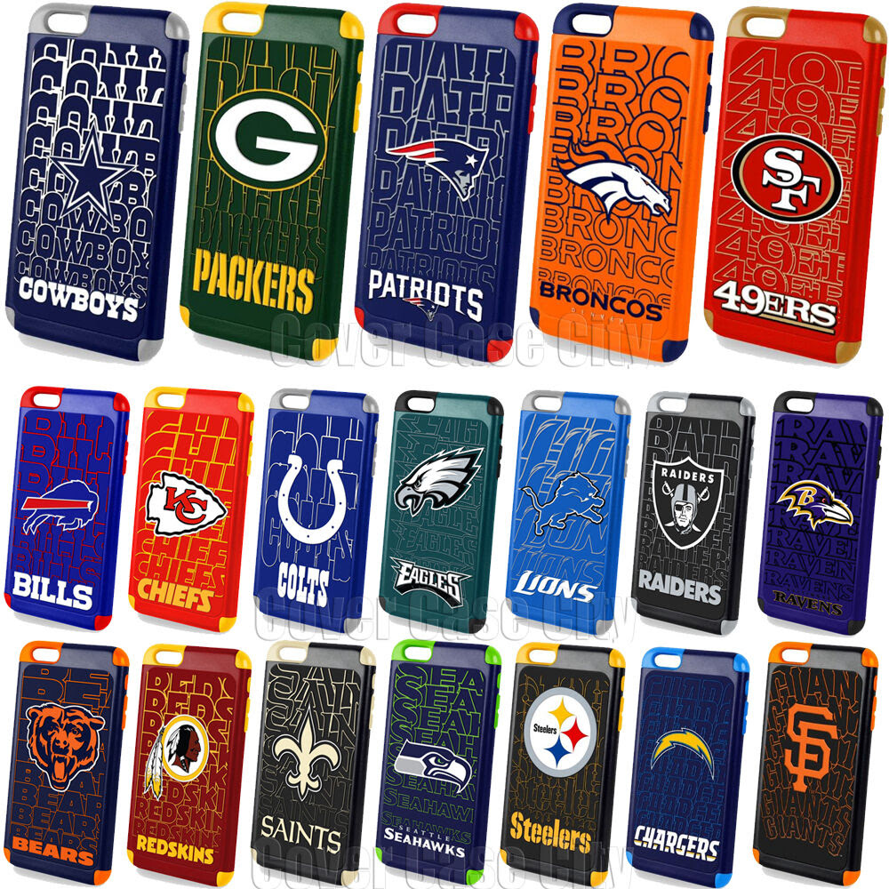Official NFL Impact Hybrid Cover for Apple iPhone 6 PLUS Protective Fan Case  eBay
