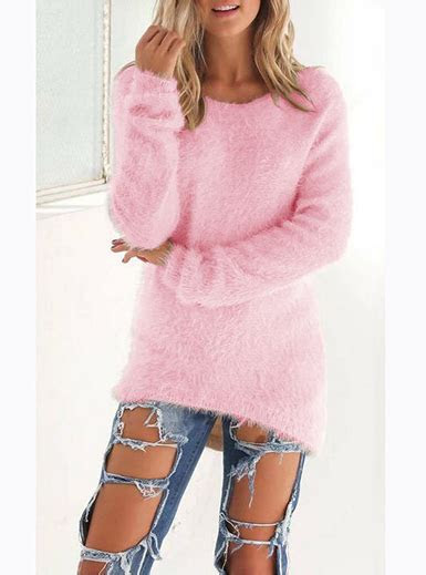 womens cashmere sweater long sleeve loose fitting
