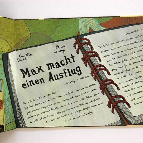 Book_MaxMachtEinenAusflug2, Book Cover Design