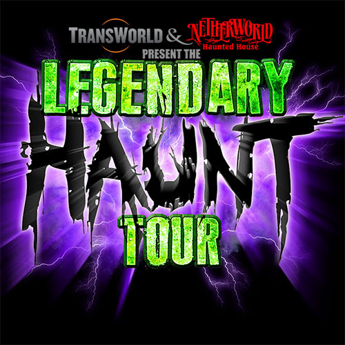 9 Days Until the Legendary Haunt Tour 2015! 1 Day Left to Book Your Hotel! Don't Wait!