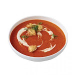 Stockpot Frozen RTS Roasted Red Bell Pepper and Smoked Gouda Bisque - 4 lb. pouch, 4 per case